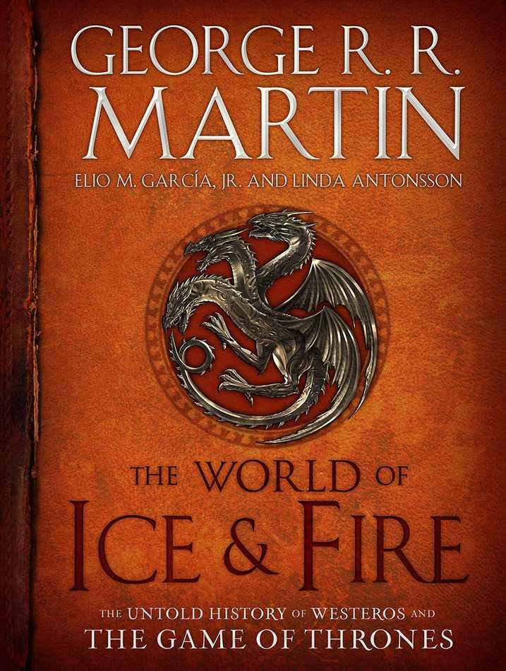 The World of Ice and Fire Book Cover