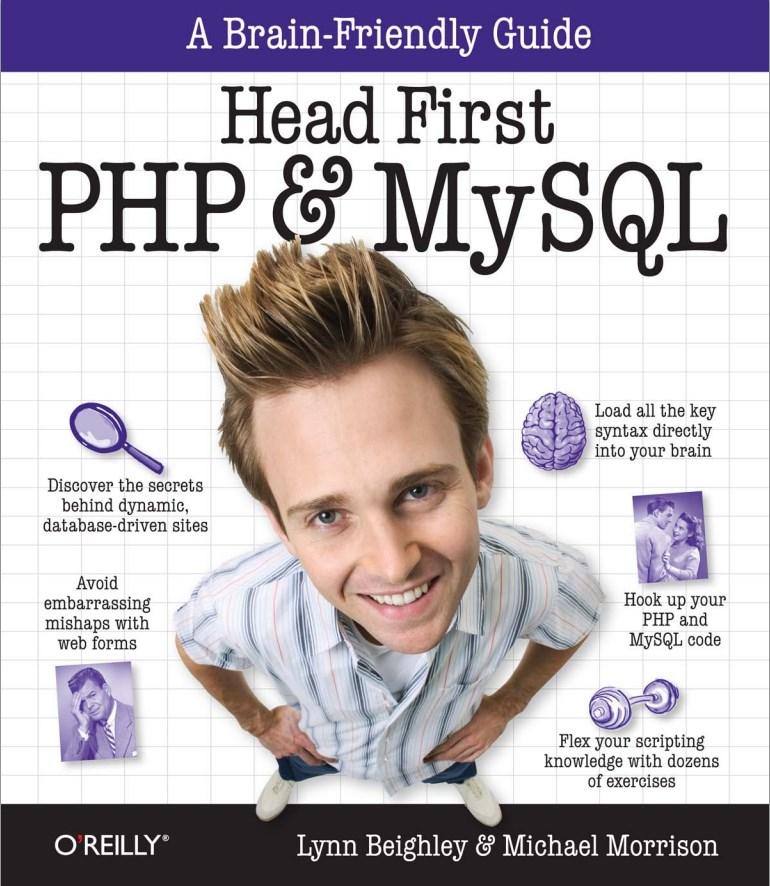 Head First PHP & MySQL Book Cover