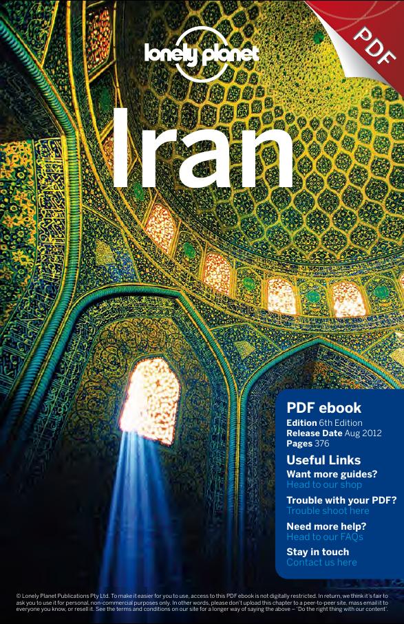 Iran travel guide Book Cover
